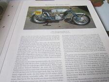 Motorrad Archiv Rennmodelle 2250 Adler RS 54 250 ccm
