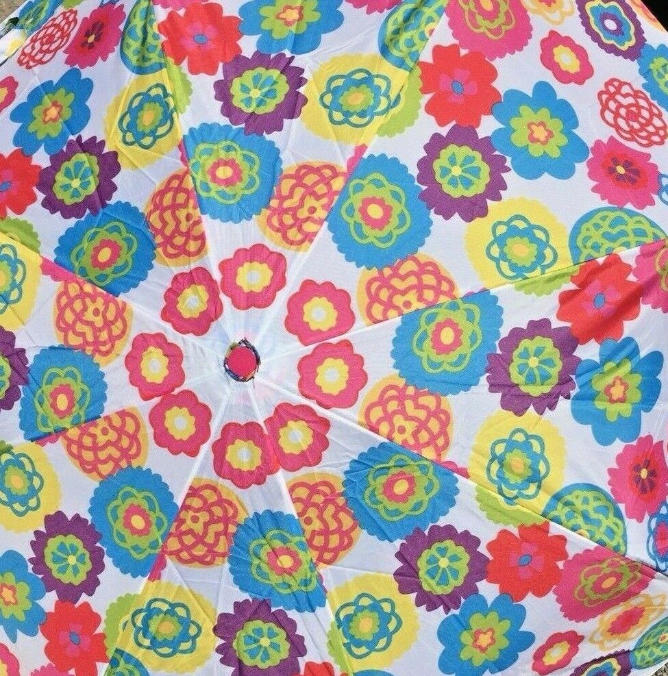 ~Avon~Cynthia Rowley~Flower Floral Umbrella~Discontinued~New Factory Sealed~