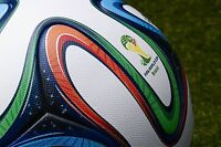 ADIDAS BRAZUCA SOCCER MATCH BALL FIFA WORLD CUP 2014 THERMAL REPLICA SIZE 5