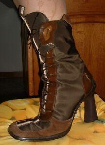 Dettagli su OFFERTA Stivali donna marrone n. 39 come nuove