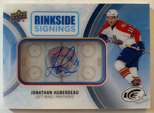 2016-17-Upper-Deck-Ice-Jonathan-Huberdeau-Rinkside-Signings-Auto-RS-HU-Panthers
