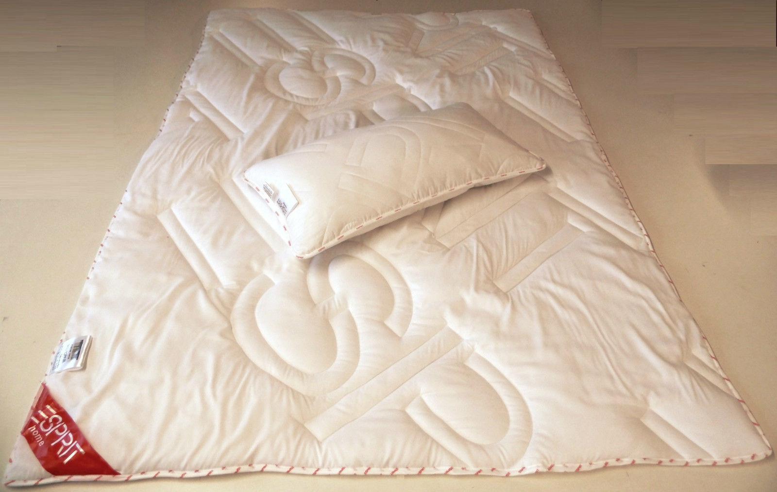 2Teiliges Bettenset Decke 135x200 cm + Kopfkissen 40x80 cm Polyester