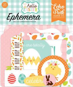 Echo Park Hello Easter Collection Ephemera
