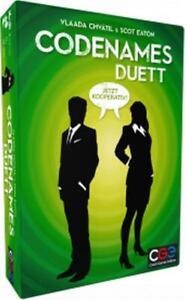 Asmodee-CGED0036-Codenames-Duett-Fuer-2-Spieler-oder-2-Gruppen-NEU-OVP