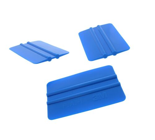 "x 3/"" Length 3M Hand Applicator Squeegee PA1-B Blue Size: 4/"" Tall"