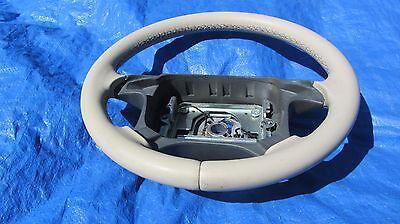97-00 Volvo OEM C70 S70 V70 V70R Beige 3960  Leather Steering Wheel Clean!!!