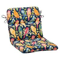Outdoor Rounded Chair Cushion - Birds