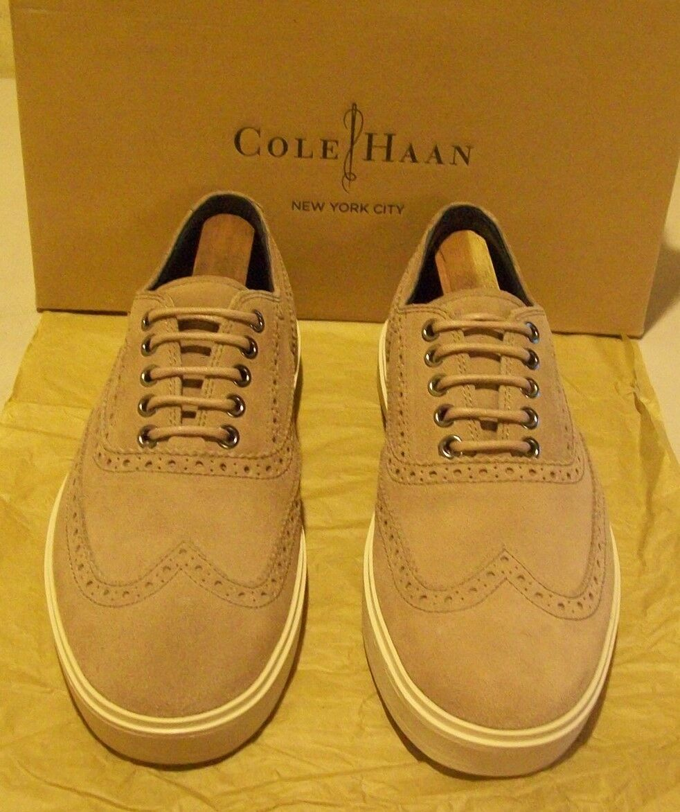 basso prezzo del 40% New Cole-Haan Bergen Wingtip 8 M M M ginger snap sueded leather (3842)  marca
