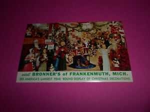 VINTAGE-POST-CARD-T-BRONNER-039-S-OF-FRANKENMUTH-MICHIGAN
