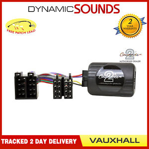 Connects2 Vauxhall Steering Wheel Control Interface Adapter Astra Corsa Vectra