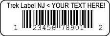 Custom Printed Upc Bar Code Number Label Stickers With Your Provided Same Number