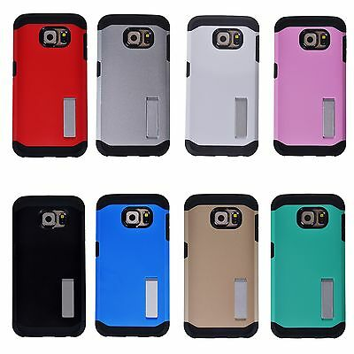 Hard Back Anti-shock Ultra Slim Hybrid Case Cove For Samsung Galaxy S6 & S6 EDGE