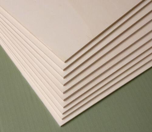 Laubsäge-Arbeiten 15 x 10 cm Pappel-Sperrholz Basteln Gestalten 20er Set