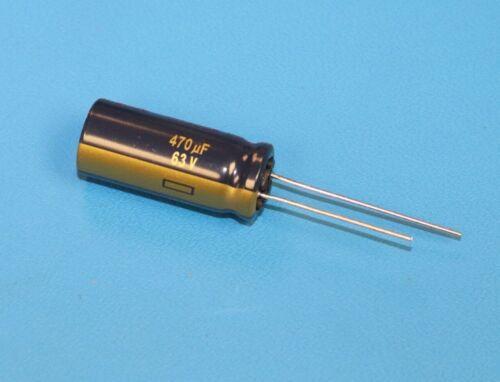 PANASONIC EEU-FC1J471L 470uF 63V 105C Aluminum Electrolytic Capacitor QTY-50