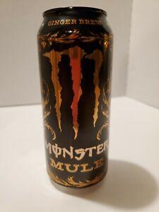 1 New 2018 Monster Mule Ginger Energy Drink Original Test Market Can Ebay Monster energy ultra violet 12x 500 мл без сахара. monster