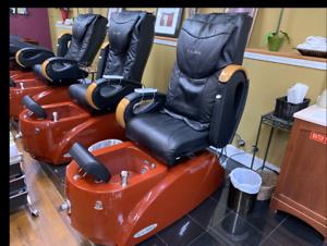 Salon Pedicure Chair Ebay >> Details About Cleo Lx Salon Pedicure Chairs