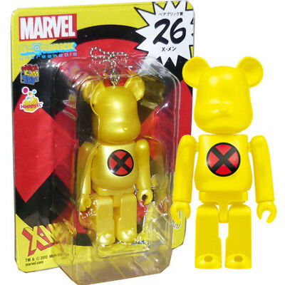 Happy Kuji Bearbrick Be@rbrick MARVEL unbreakable 100/% no.26 X-men logo ver.