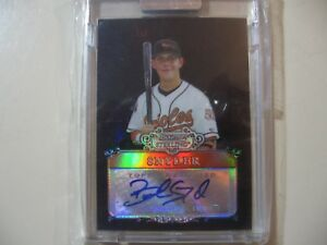 Q Auto Brandon >> 2006 Bowman Sterling Black Refractor Brandon Snyder Rc