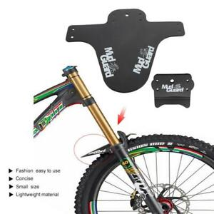 Durable Bicycle MTB Fender Colorful Front /& Rear Set Bike Mud Guard
