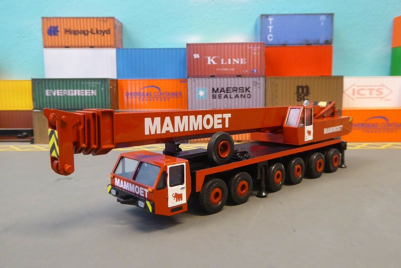 punto de venta barato Conrad LIEBHERR LTM LTM LTM 1120 MAMMOET 1 50 Grua Crane Kran Mobilkran Grue  ventas al por mayor