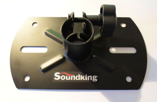 1 of 1 - Soundking speaker stand external top hat 35mm / pole mount mounting bracket