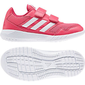 check out 1e013 e6e9f Image is loading Adidas-Kids-Girls-Running-AltaRun-Shoes-Sporty-Fashion-