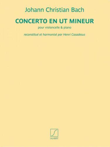 Concerto en ut mineur for Cello and Piano Book NEW 050499824