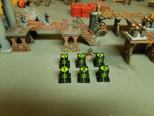 Alien Tech objectif Marqueurs-Warhammer 40k killteam