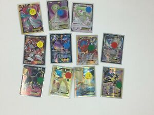 Pokemon-Lot-of-11-Full-Art-Pokemon-EX