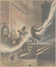 K0144 Incidente nella Centrale elettrica di Olevano sul Tusciano - Stampa 1931