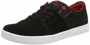 Noir blanc Ii rouge 11 pour Supra Stacks 5 Chaussures hommes wHgZZO