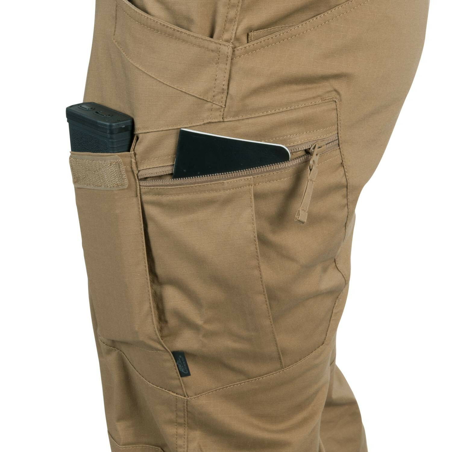 HELIKON TEX TACTICAL URBAN TACTICAL TEX PANTS UTP RIPSTOP HOSE Shadow Grau Large Long abafdd
