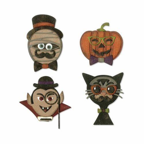 HIP HAUNTS 664206 Halloween SIZZIX TIM HOLTZ THINLITS CUTTING DIE SET