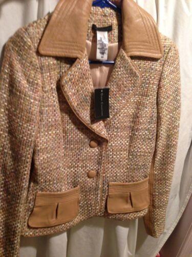 Blazer Jacket W Cute Nye Kvinder Tweed tags Guess F4wxStE
