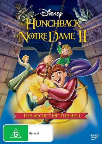 1 of 1 - The Hunchback of Notre Dame II - The Secret of the Bell (DVD)