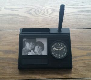 Free Engraving Personalized Desk Clock Set Pen Photo Cards Things