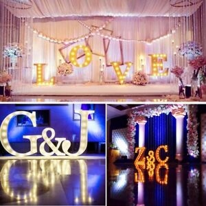 B-Z-Light-Up-Letter-LED-Alphabet-Wood-Party-Wedding-Party-Standing-Decor-US