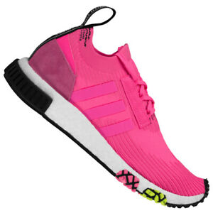 Details zu adidas Originals NMD_Racer Primeknit Boost Damen Herren Sneaker Rosa CQ2442 neu