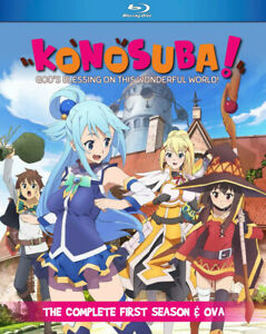 Konosuba Season 1 + OVA BLURAY