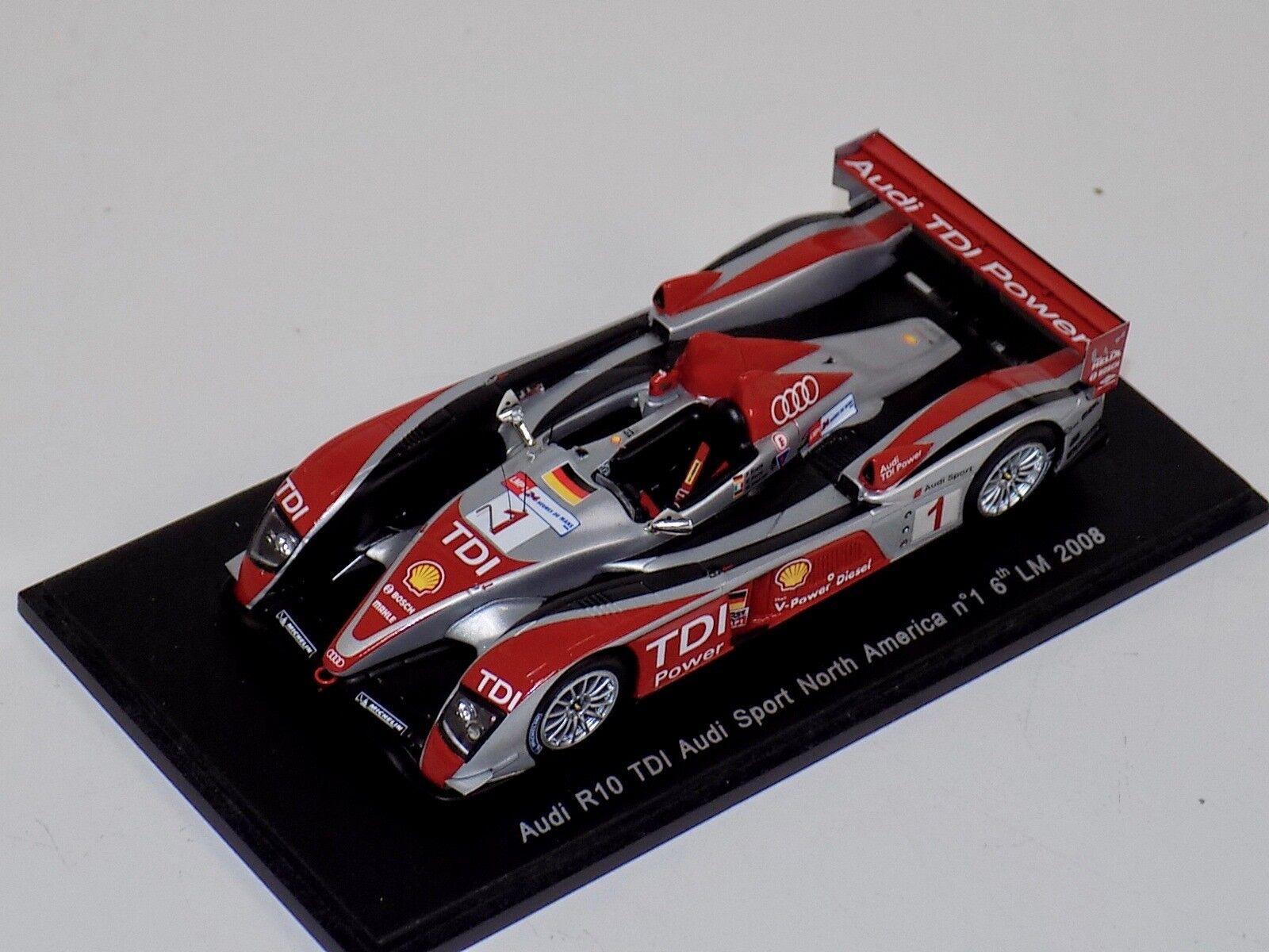 1  43 Spark Audi R10 TDI bil th i 2008 24 timmar av LeMans S0684