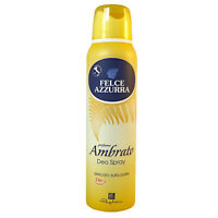 Felce Azzurra Deo Spray Amber 24h 150ml 5oz