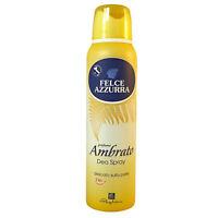 Felce Azzurra Deo Spray Amber 24h 150ml 5oz