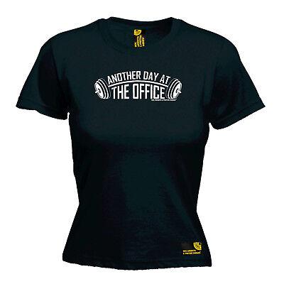 Top Da Palestra Bodybuilding T-shirt Divertenti Novità Da Donna Tee T-shirt-un Altro Giorno In Th-mostra Il Titolo Originale Diversificato Nell'Imballaggio