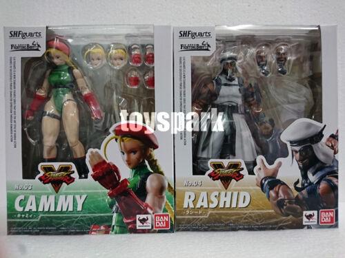 JAPAN BANDAI S.H.Figuarts Capcom Street Fighter V CAMMY /& RASHID 2 action figure