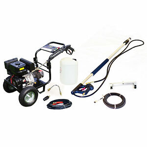 Km3700p Petrol Jet Washer Pressure Cleaner Pack Patio