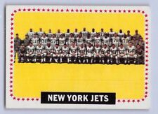 1964 Topps New York Jets #131 Football Card