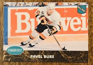 1992-1993-Parkhurst-French-Pavel-Bure-CANUCKS-404-ROOKIE-RC-MT