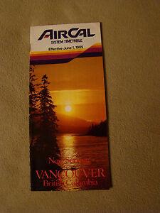 AirCal-Timetable-June-1-1985