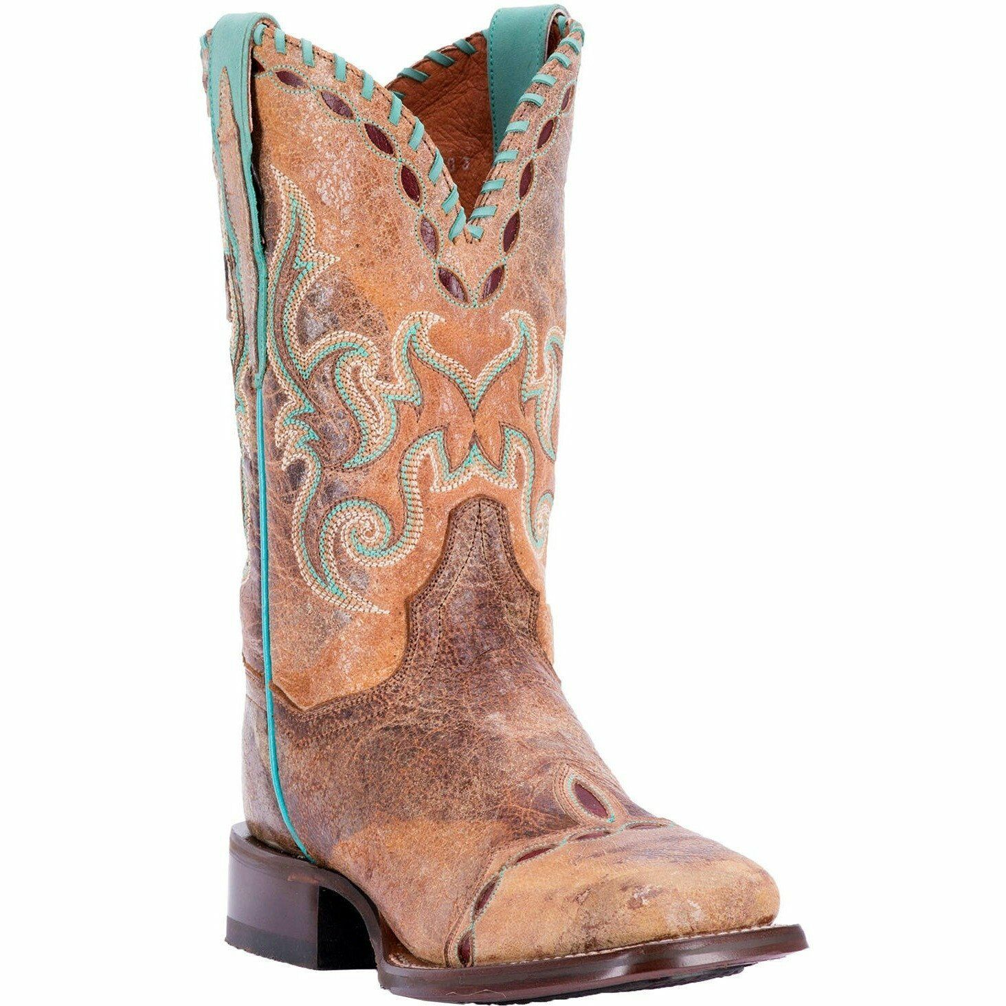 Women's Dan Post Mckenna Boots Cowgirl Certified Certified Certified Square Toe Handcrafted DP4621 dec72f