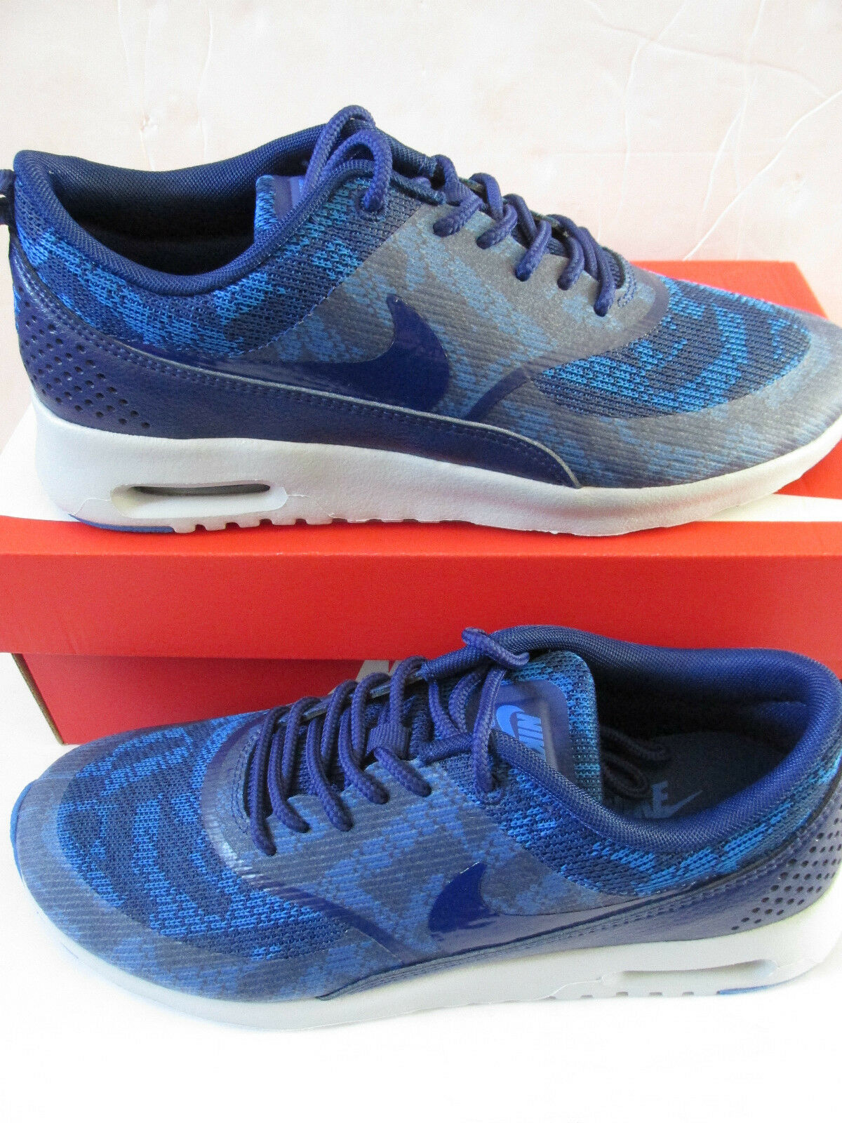 nike  Femme  air max thea JRCRD fonctionnement trainers 718646 401 sneakers  chaussures